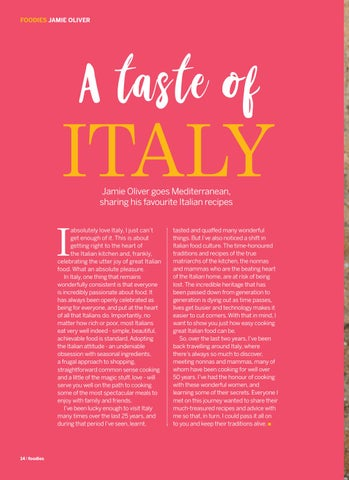 Page 14 of A Taste of Italy