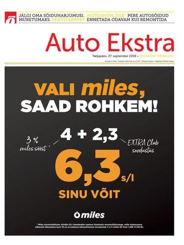 8f8cfa08441 Auto Ekstra september 2018 by SL Õhtuleht AS - issuu