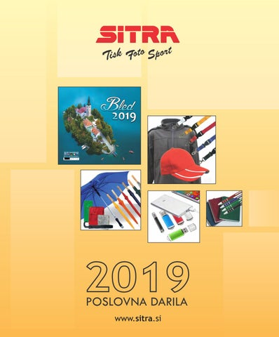 Katalog Poslovnih Daril Sitra 2019 By Sitra Issuu