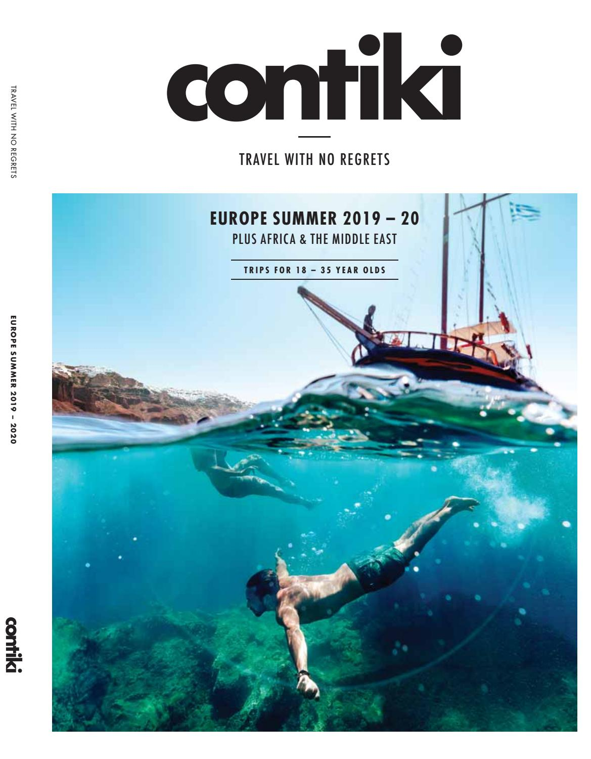 10b654b04 Contiki Holidays Europe Summer eBrochure 2019 20 (GBP) by BS T - issuu