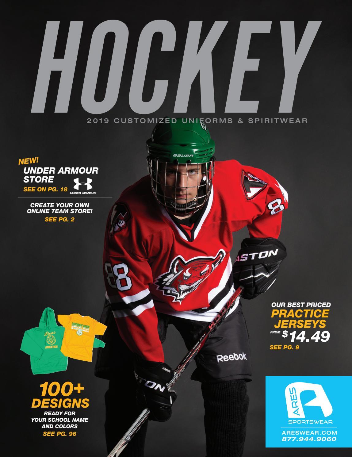 b6a5c67119a 2019 Ares Sportswear Hockey Catalog by Ares Sportswear - issuu