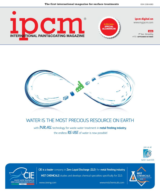 ed5afb519e6 ipcm® n. 53 - September October 2018 by ipcm® International Paint Coating  Magazine - issuu