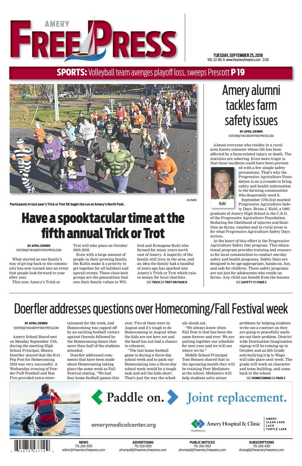 703586952b40 Amery Free Press September 25