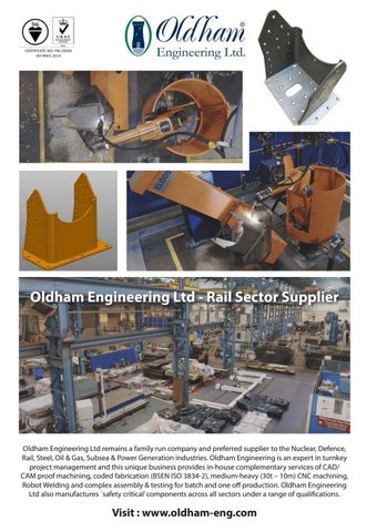 Page 30 of Straight talking from the heart of the rail supply chain