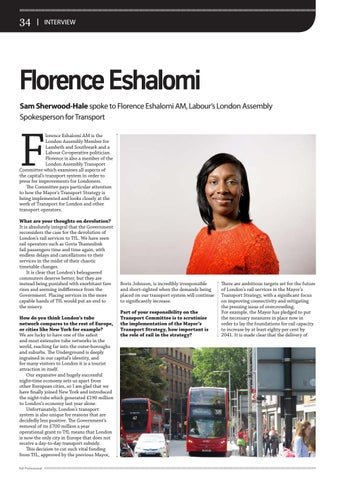 Page 34 of Interview: Florence Eshalomi