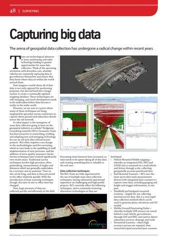 Page 48 of Surveying: Capturing big data