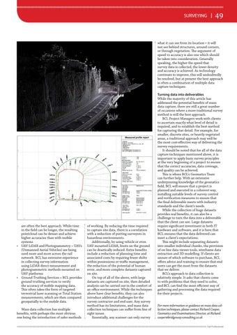 Page 49 of Surveying: Capturing big data