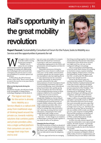 Page 61 of Rail's opportunity in the great mobility revolution