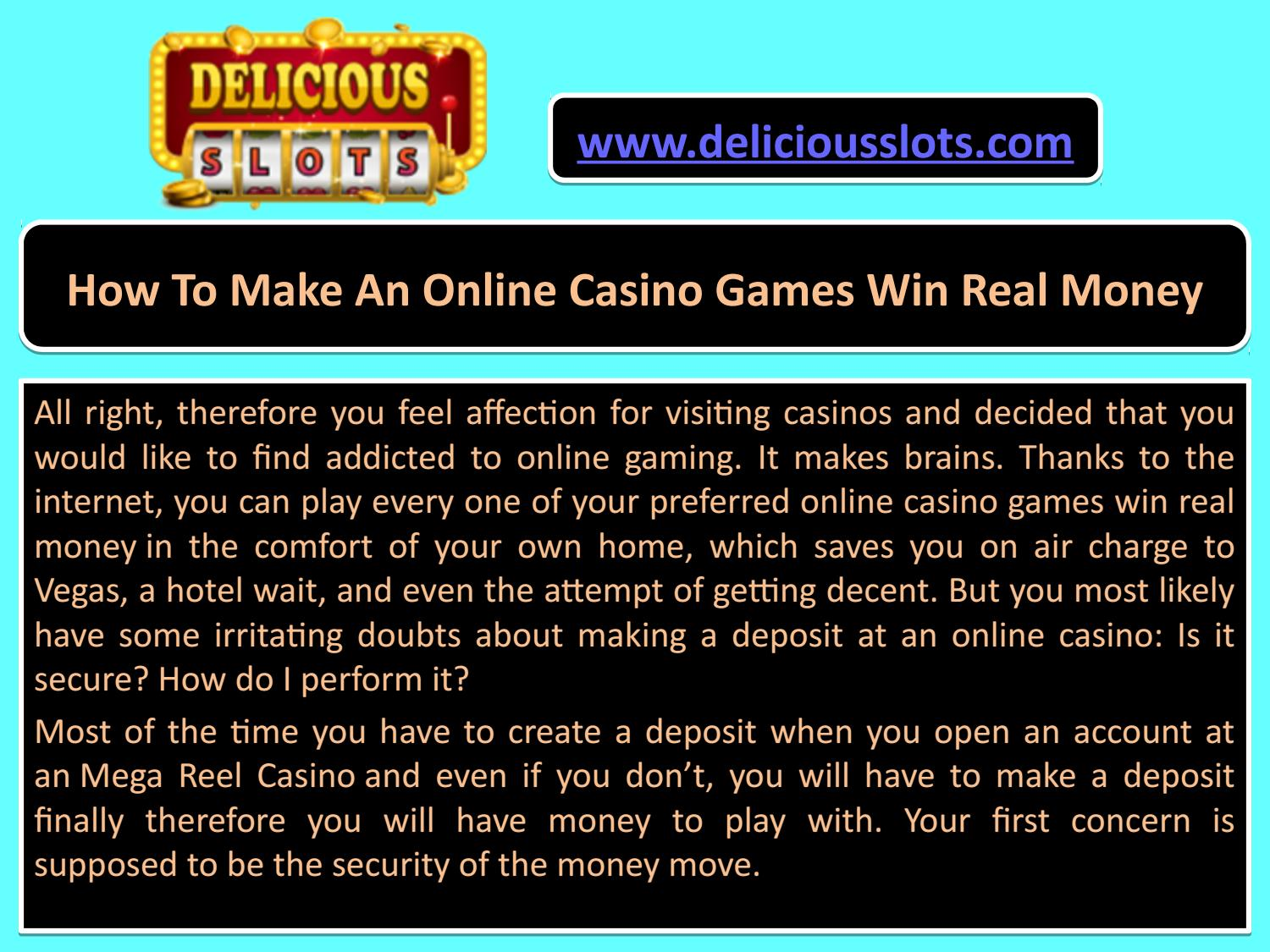 How To Make An Online Casino Games Win Real Money by ...