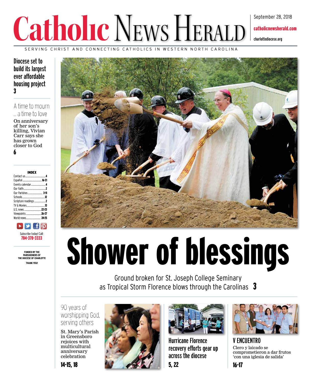 Sept  28, 2018 by Catholic News Herald - issuu