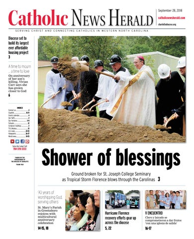 Sept 28 2018 By Catholic News Herald Issuu
