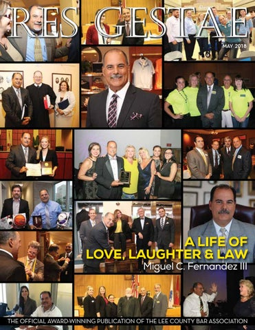 Res Gestae - May 2018 by Lee County Bar Association, Lee