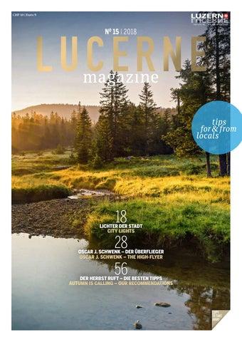 Lucernemagazine 20182 By Ba Media Gmbh Issuu