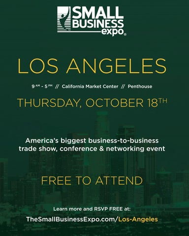 Page 17 of Small Business Expo Los Angeles - FREE TO ATTEND
