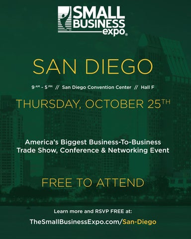 Page 21 of Small Business Expo San Diego Oct. 25, 2018