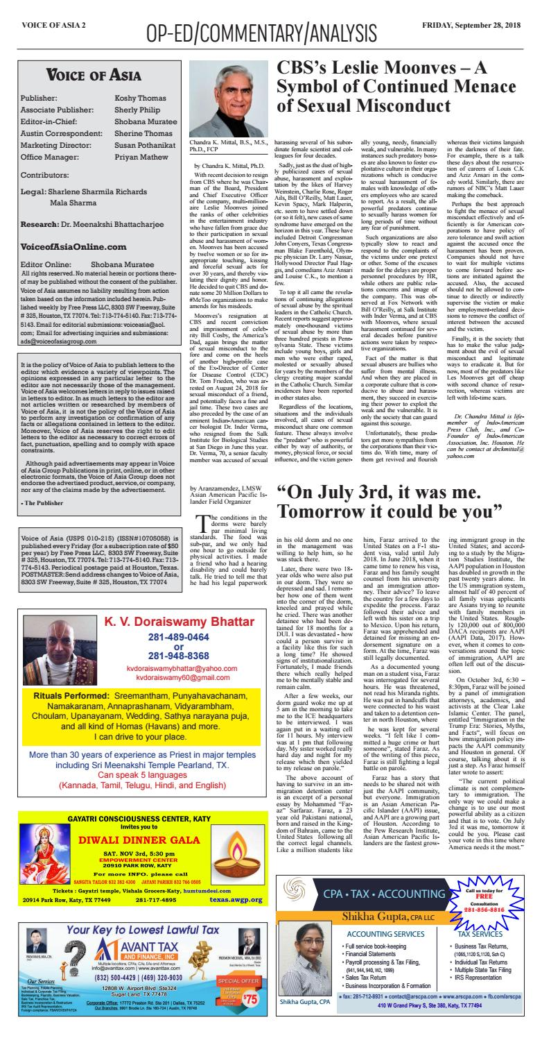 Voice of Asia E paper September 20, 20 by VoiceOf Asia   issuu