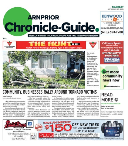 5d3c6fb7d059 ARN A 20180927 by Metroland East - Arnprior Chronicle-Guide - issuu