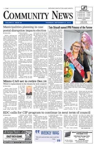 e07013ae Drayton Community News September 27, 2018 by WHA Publications Ltd ...