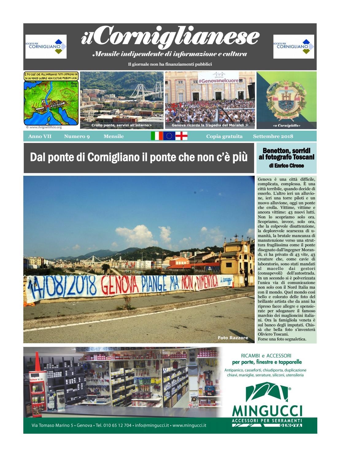 La Vena Artistica Genova il corniglianese settembre 2018 by ilcorniglianese - issuu