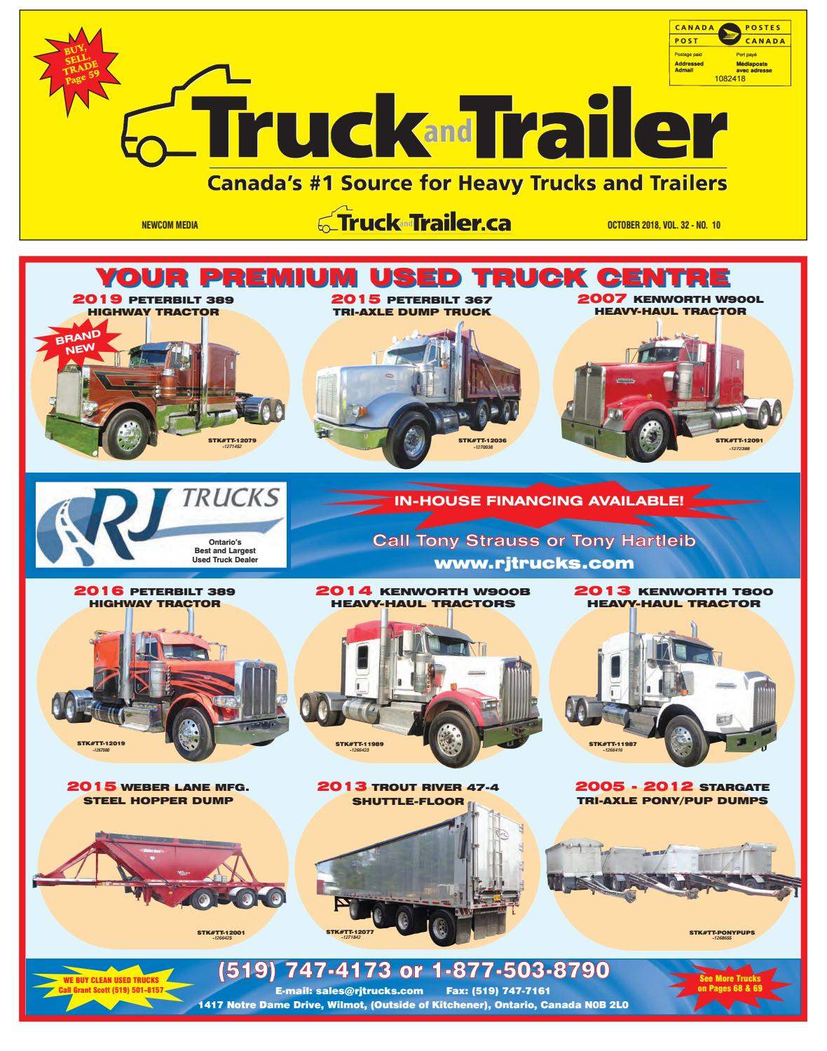 Truck and Trailer October 2018 by Annex Business Media - issuu