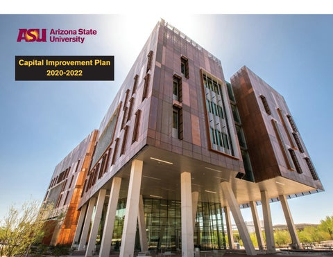ASU Capital Improvement Plan 2020–2022 by Business and