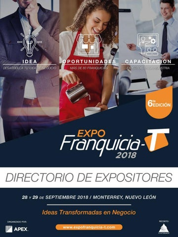 Directorio Expo Franquicia-T 2017 by APEX AC - issuu b4d4652cc6255