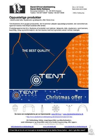 5015da46337 Oppustelige produkter - blandt andet telte, skydancers og løbeporte, efter  Deres krav. Se mere om mu