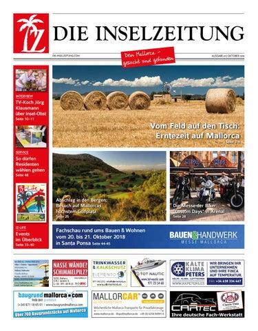 Die Inselzeitung Mallorca Oktober 2018 by Die Inselzeitung ...