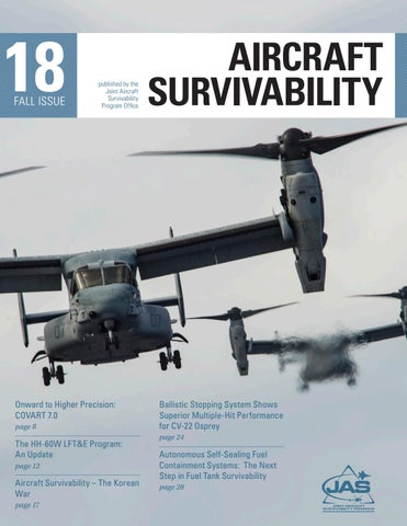Aircraft Survivability Journal: Fall 2018 by Defense Systems