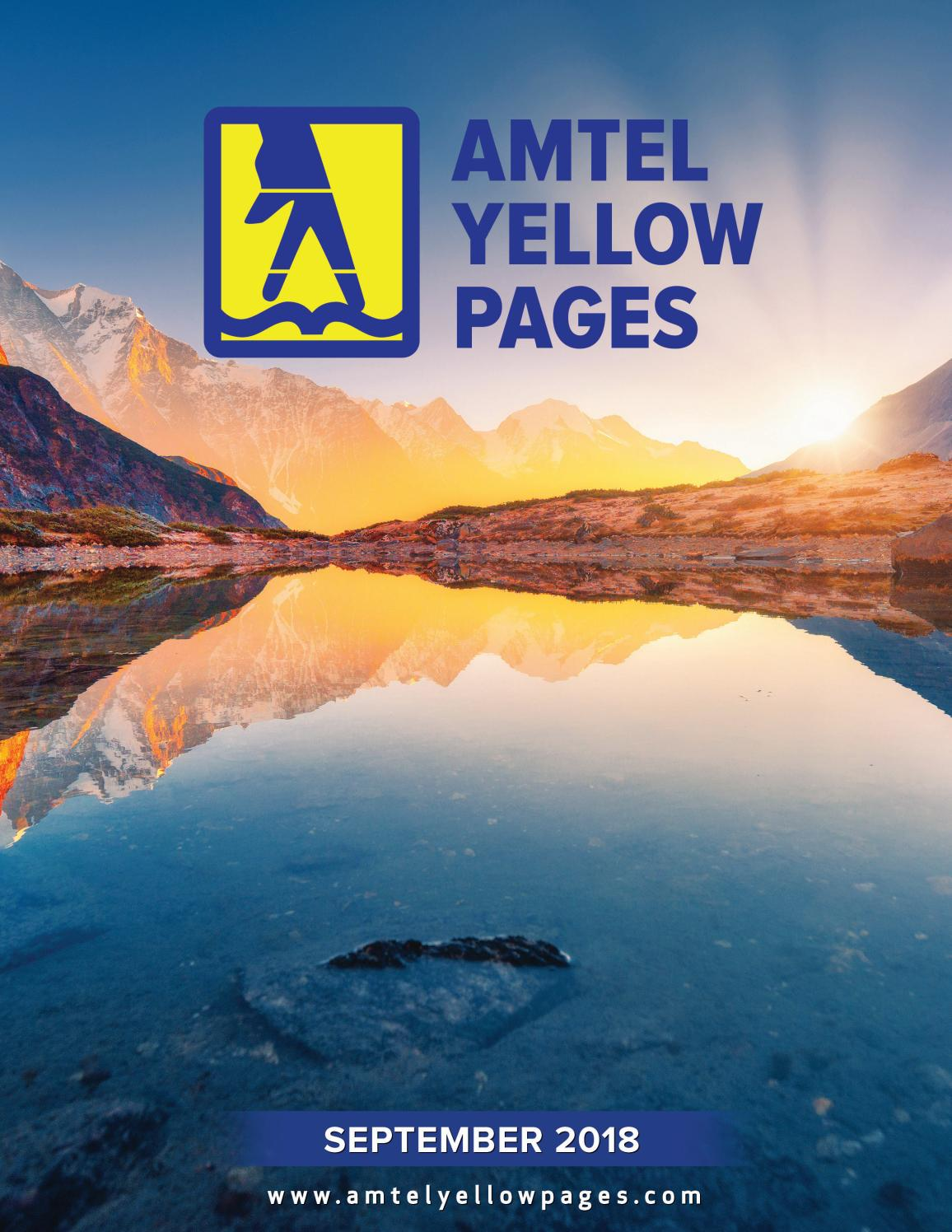 Amstel Yellow Pages 2018 By El Periodico Usa Issuu
