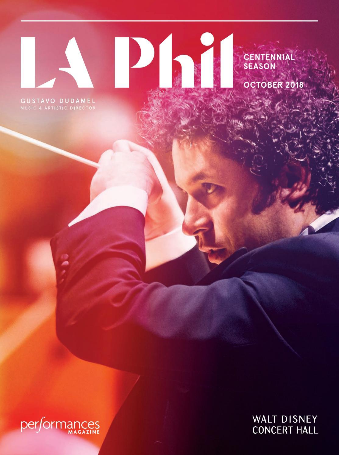 89a100057b3da1 Performances Magazine -- LA Phil October 2018 by SoCalMedia - issuu