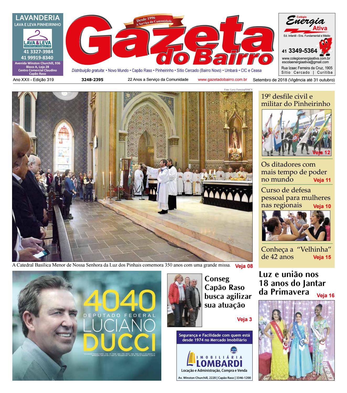 8c3478a605086 Gazeta do Bairro Set 2018 by Gazeta do Bairro - issuu