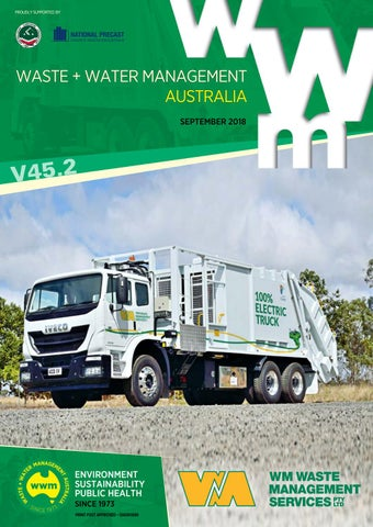 Waste + Water Management Australia V45 2 September 2018 by
