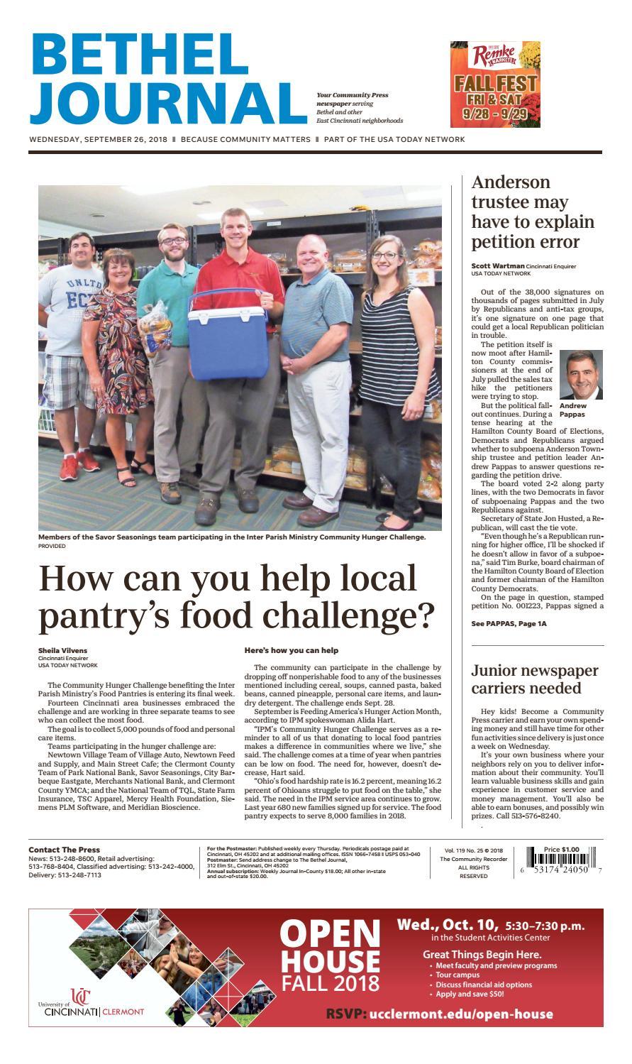 Bethel Journal 09/26/18 by Enquirer Media - issuu