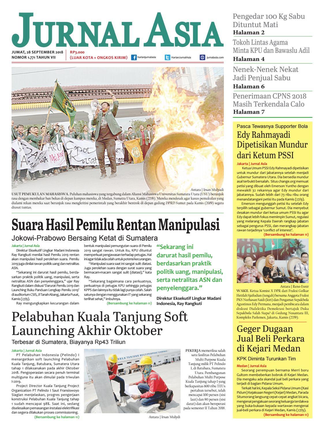 Harian Jurnal Asia Edisi Jumat 61afdbf639