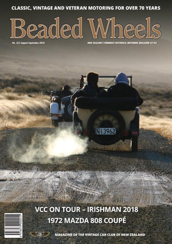c605c9293bc Beaded Wheels by Vintage Car Club of New Zealand - issuu