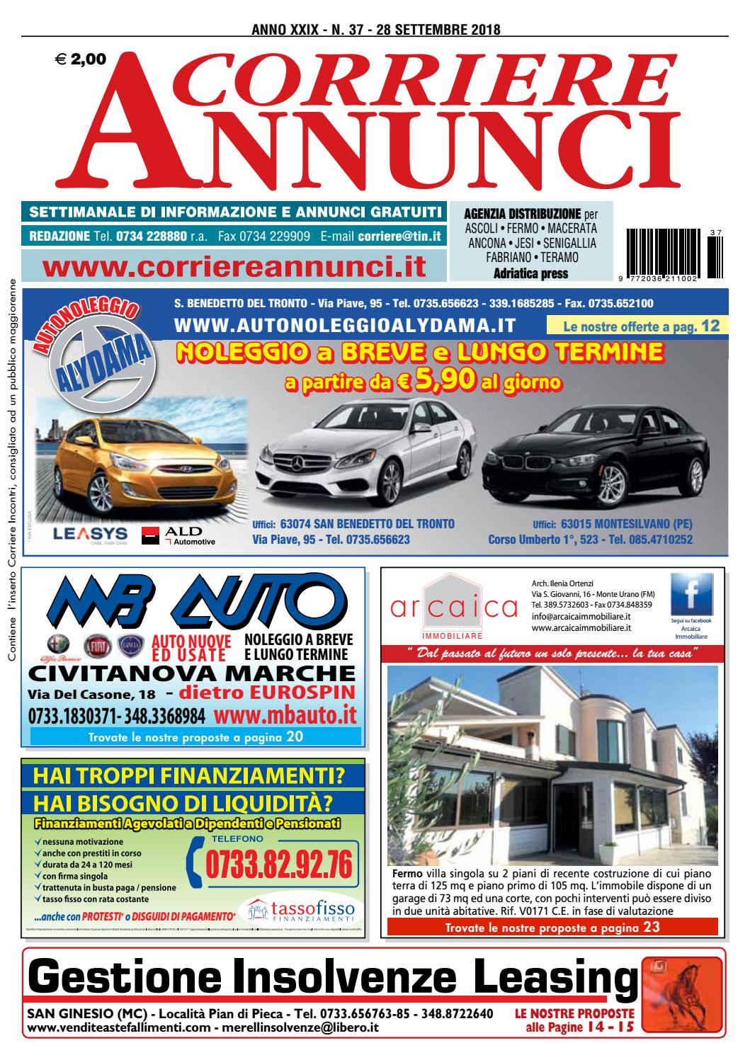 Corriere 37-2018 by Corriere Annunci - issuu bd7be515574