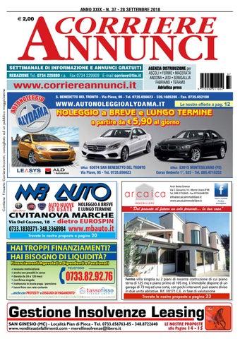 La Boutique Del Materasso Osimo.Corriere 37 2018 By Corriere Annunci Issuu