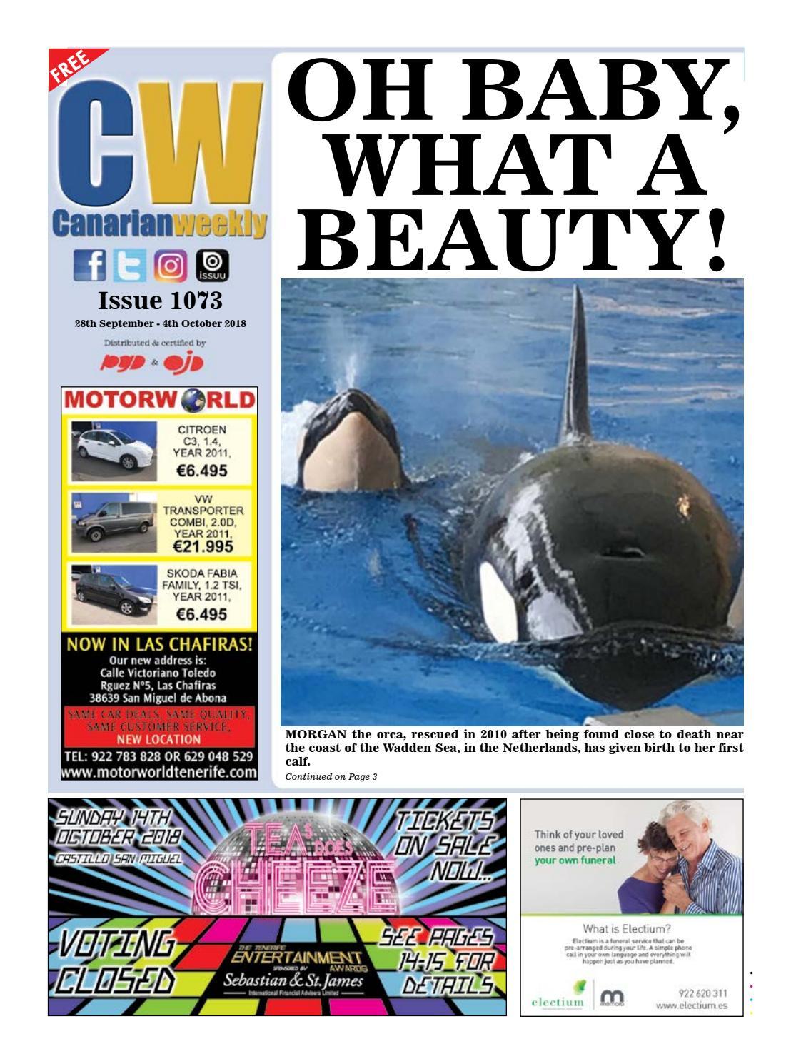 512827fa8 CW Issue 1073 by Canarian Weekly - issuu