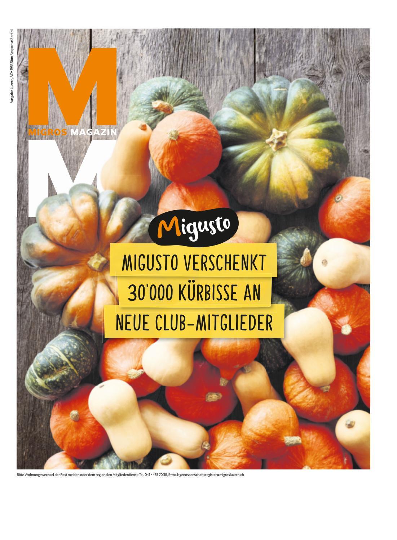 migros magazin 40 2018 d lu by migros genossenschafts bund issuu  Neue Schiesser 203darkgr Slip Herren Auf Verkauf P 841 #6