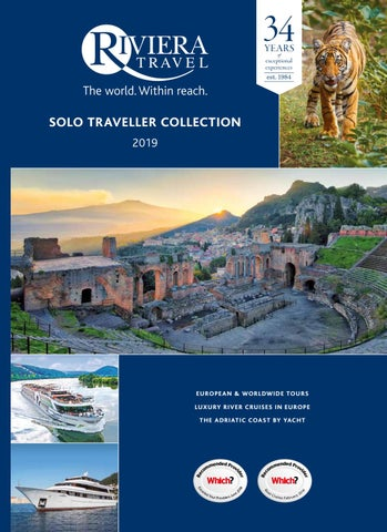 Agents - A collection of holidays for Solo Travellers by Riviera