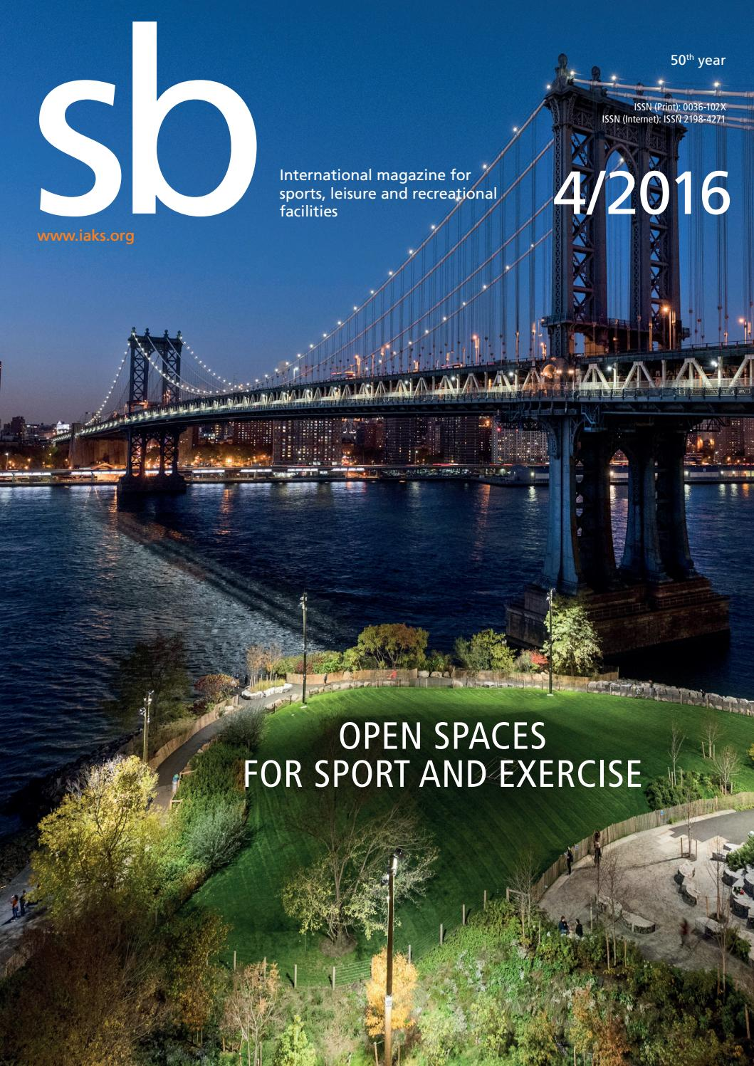 sb 4 2016 (english) by IAKS e.V. - issuu