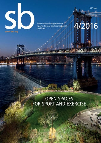 sb 4 2016 (english) by IAKS e V  - issuu