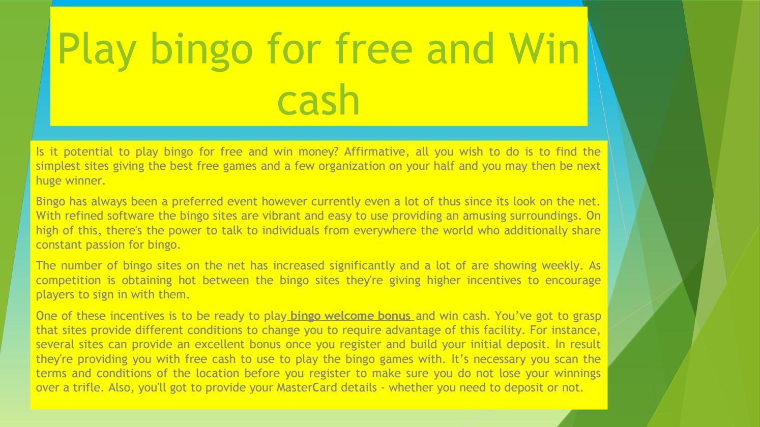 Play Free Win Cash
