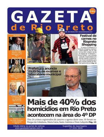Gazeta de Rio Preto - 28 09 2018 by Social Light - issuu 5a93f5e90e0