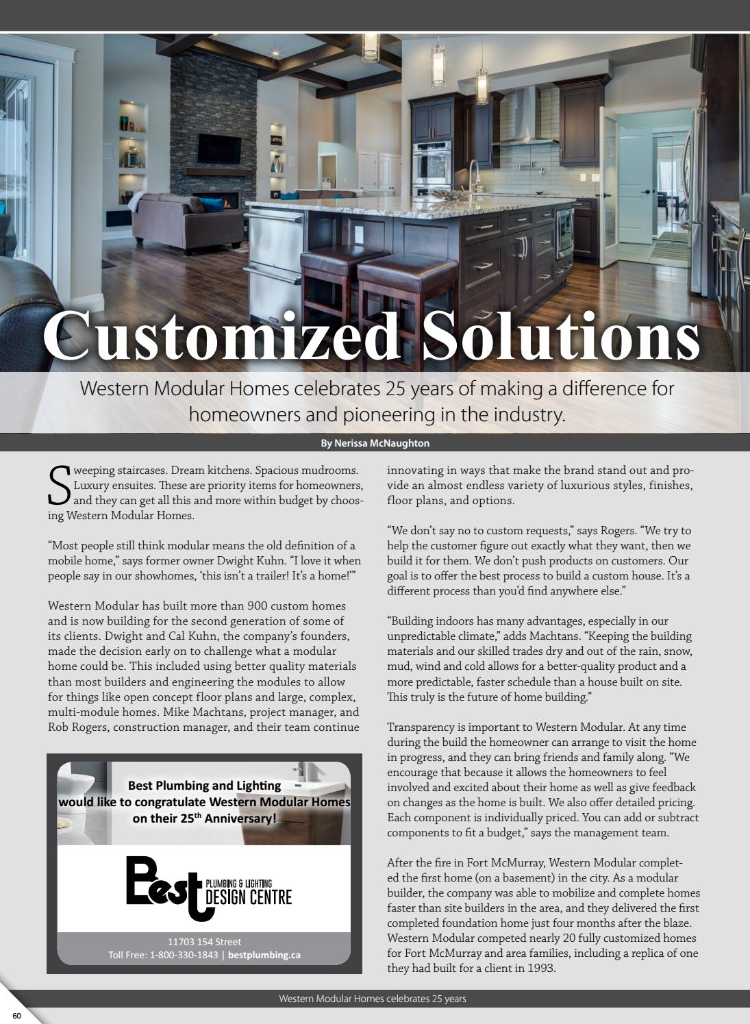 Western Modular Profile By Business In Edmonton Magazine Issuu