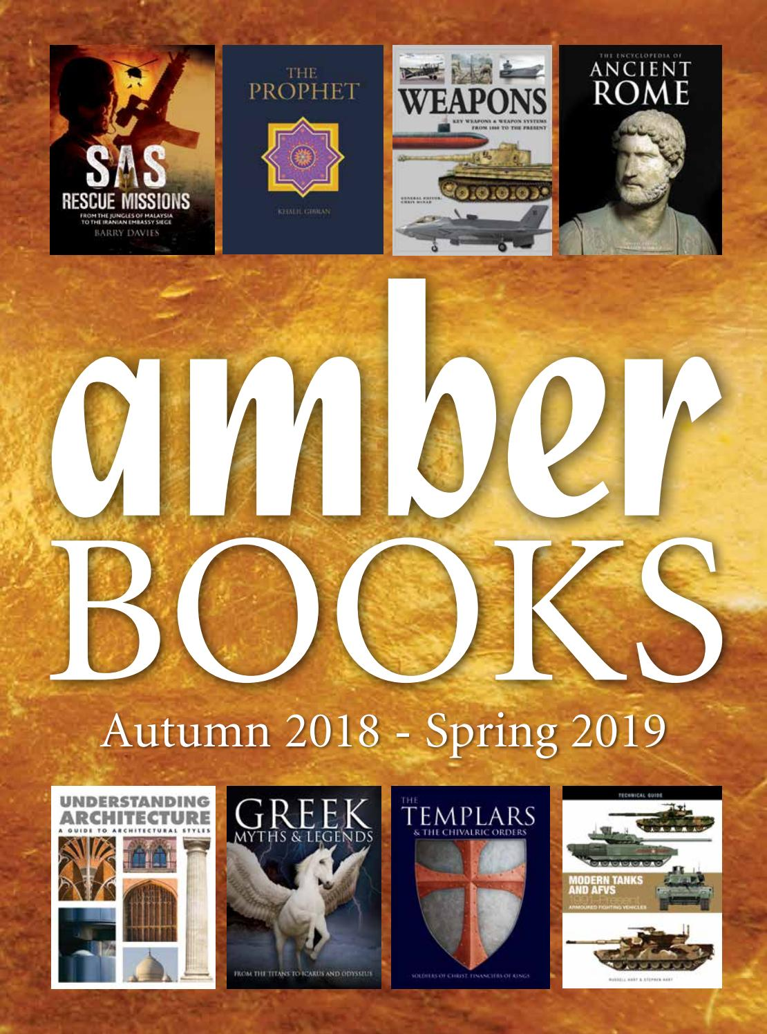 Amber Books Autumn 2018 / Spring 2019 Catalogue by Gunnar