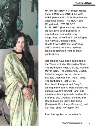 Page 19 of Meghna Pant wins the Laadli Media Award 2018