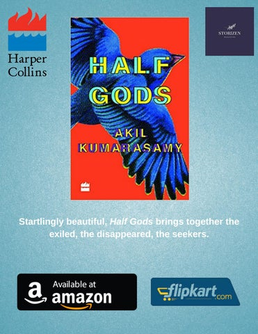 Page 25 of HarperCollins India Presents Half Gods by Akil Kumarasamy