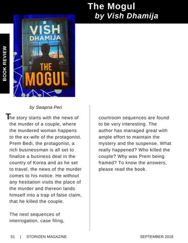 Page 51 of Book Review - The Mogul by Vish Dhamija